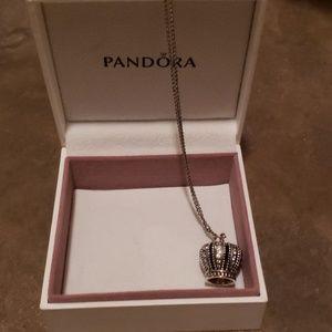 Pandora Crown necklace